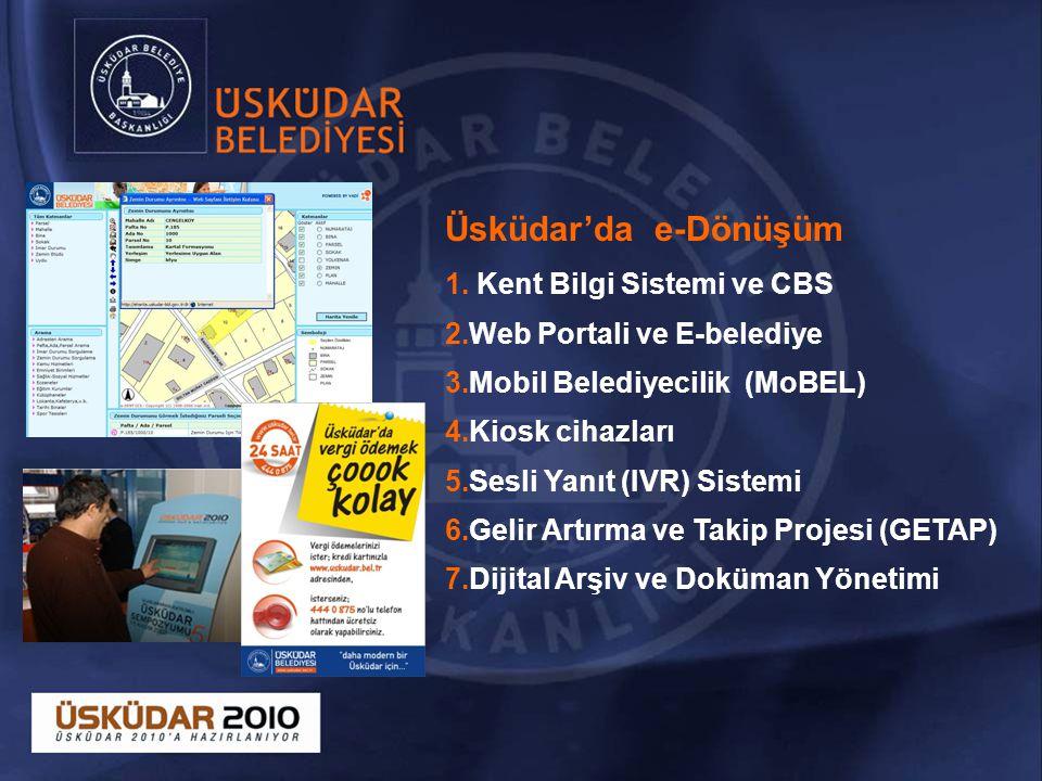 Üsküdar'da e-Dönüşüm Kent Bilgi Sistemi ve CBS