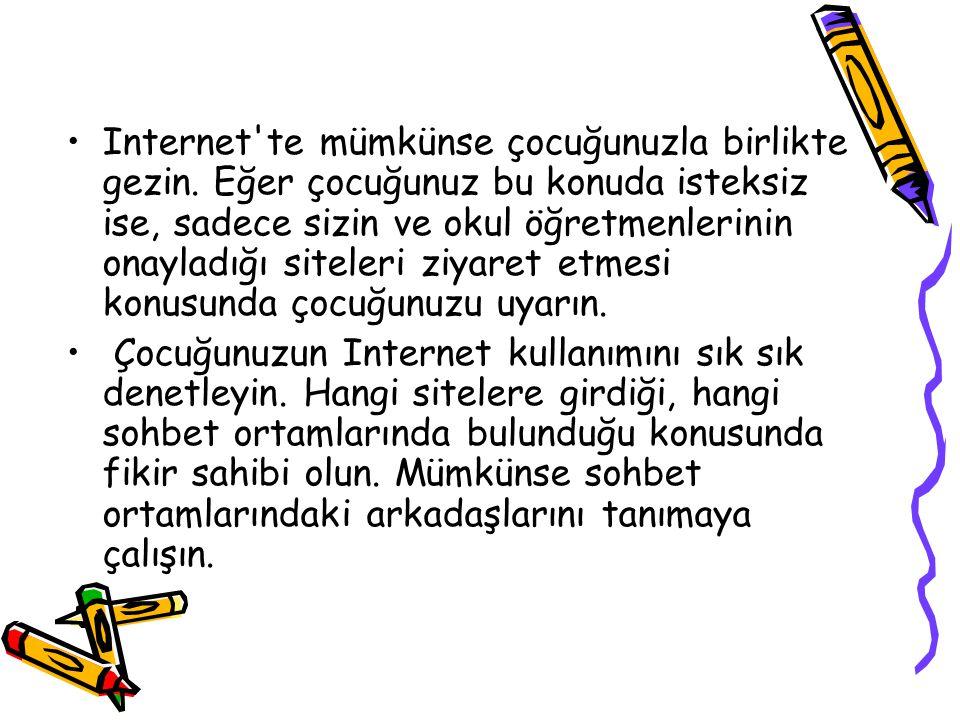 Internet te mümkünse çocuğunuzla birlikte gezin