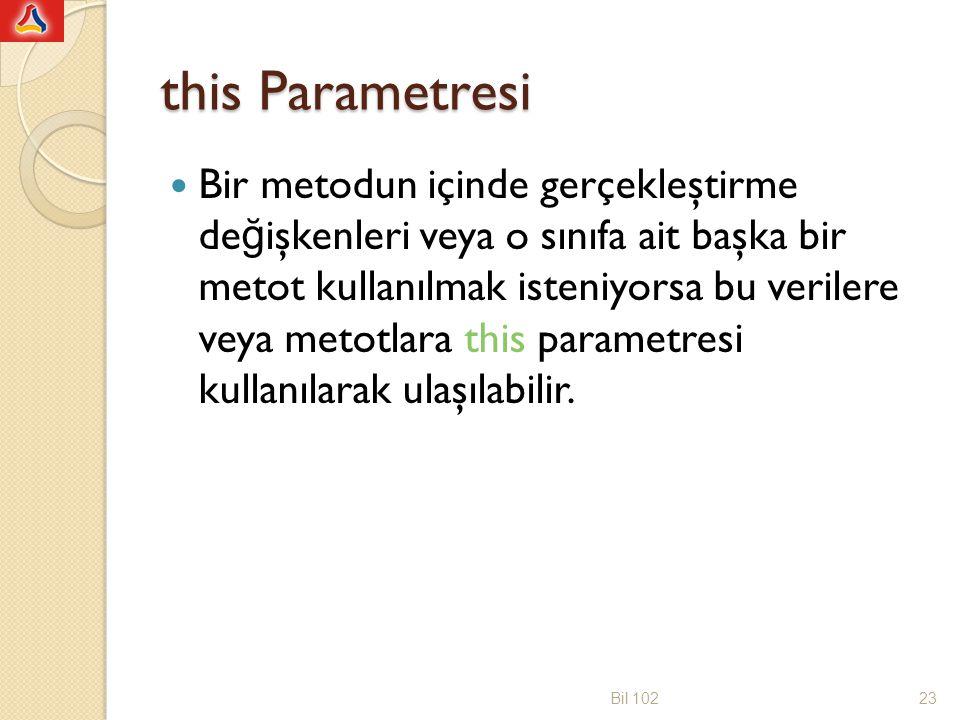 this Parametresi