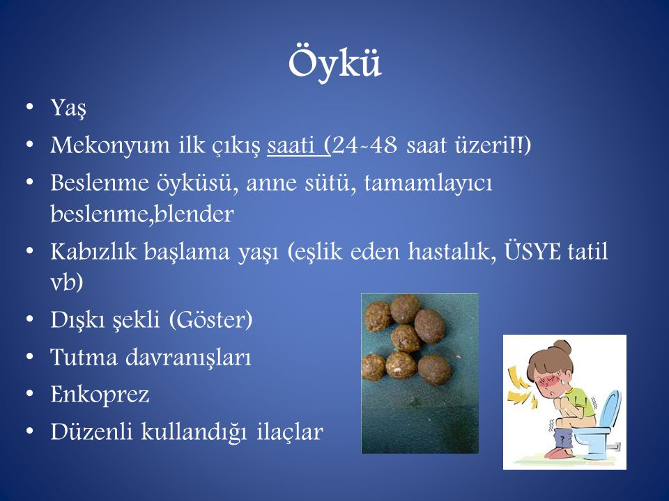 Öykü Yaş Mekonyum ilk çıkış saati (24-48 saat üzeri!!)