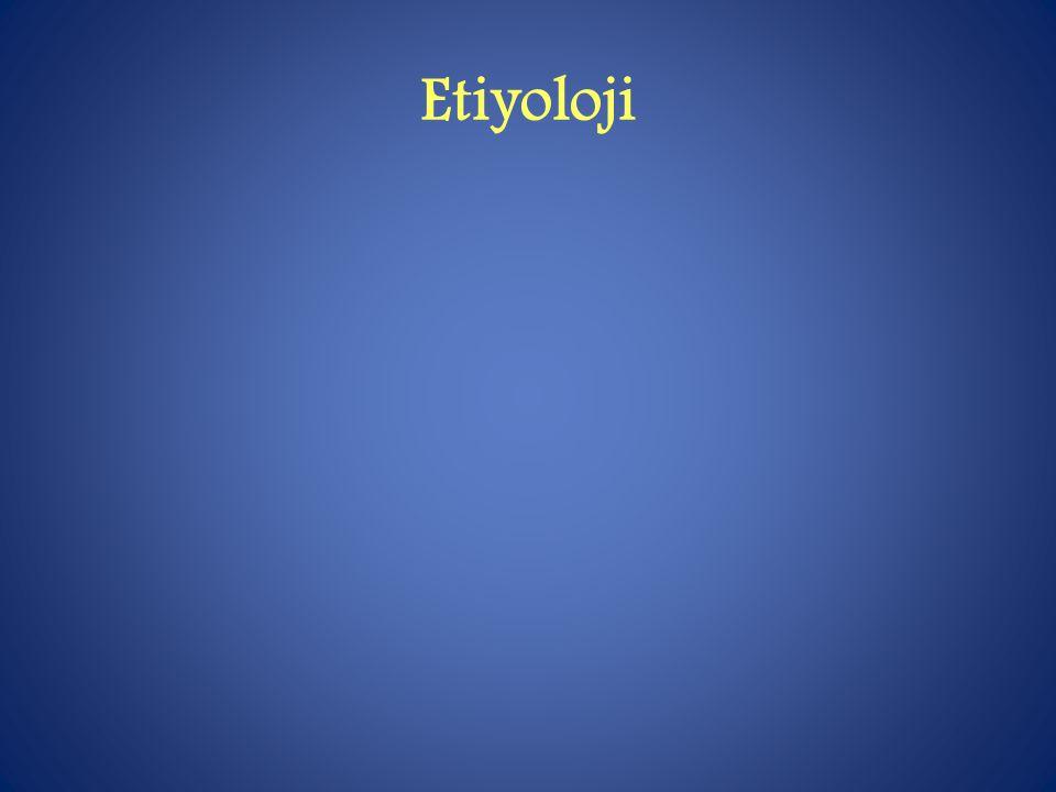 Etiyoloji
