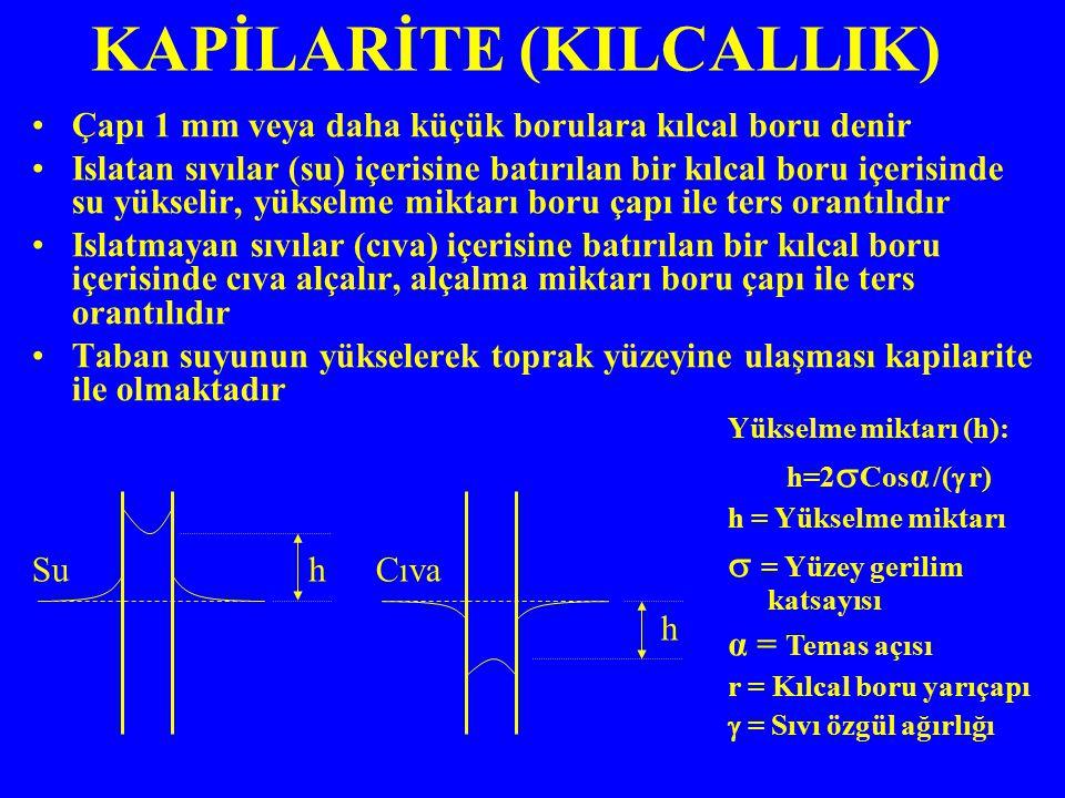 KAPİLARİTE (KILCALLIK)