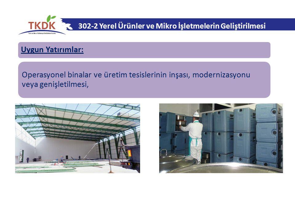302-2 Yerel Ürünler ve Mikro İşletmelerin Geliştirilmesi