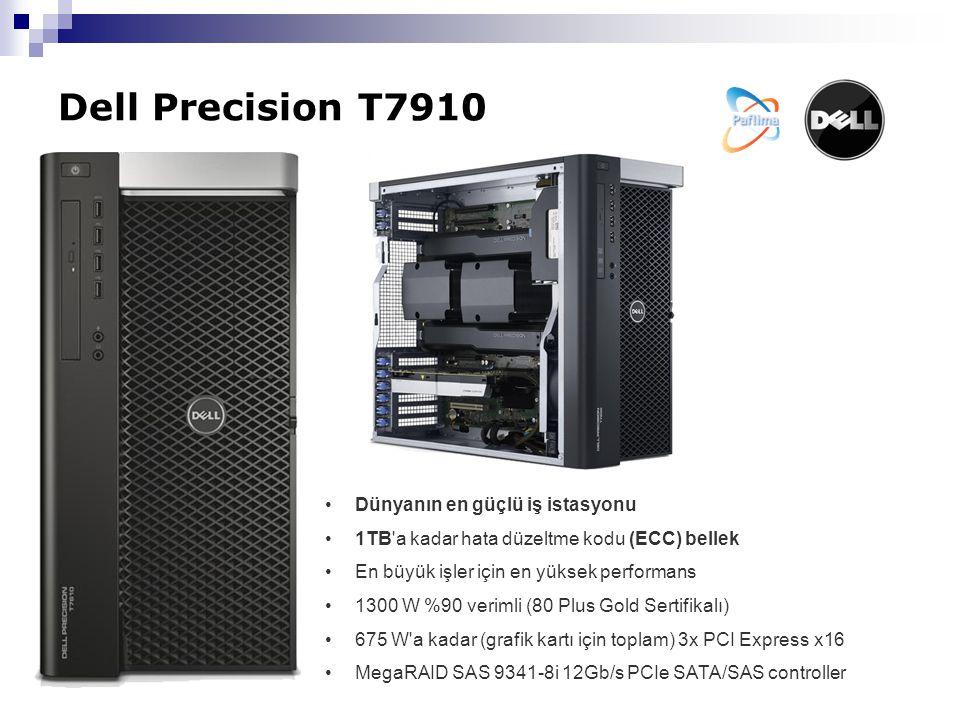Dell Precision T7910 Dünyanın en güçlü iş istasyonu