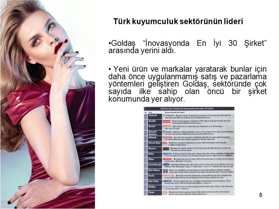 Türk kuyumculuk sektörünün lideri