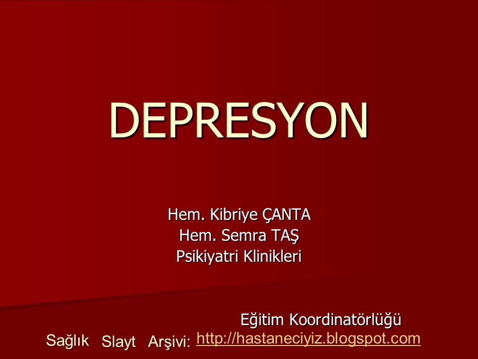 Psikiyatri Klinikleri