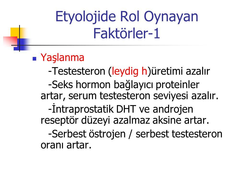 Etyolojide Rol Oynayan Faktörler-1