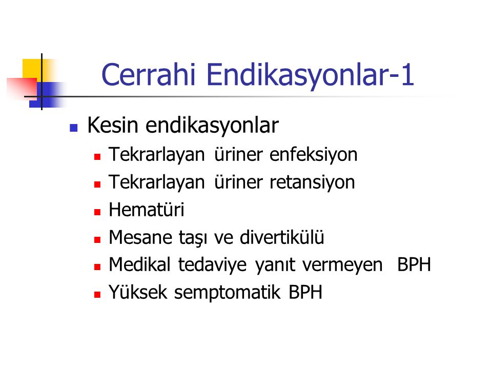 Cerrahi Endikasyonlar-1