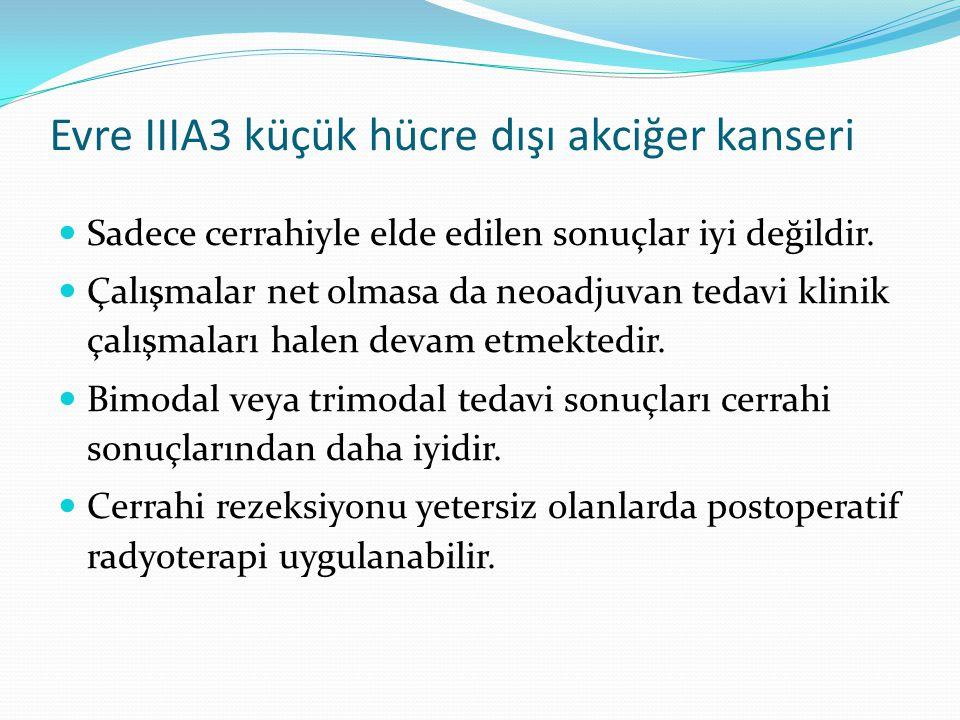 Evre IIIA3 küçük hücre dışı akciğer kanseri