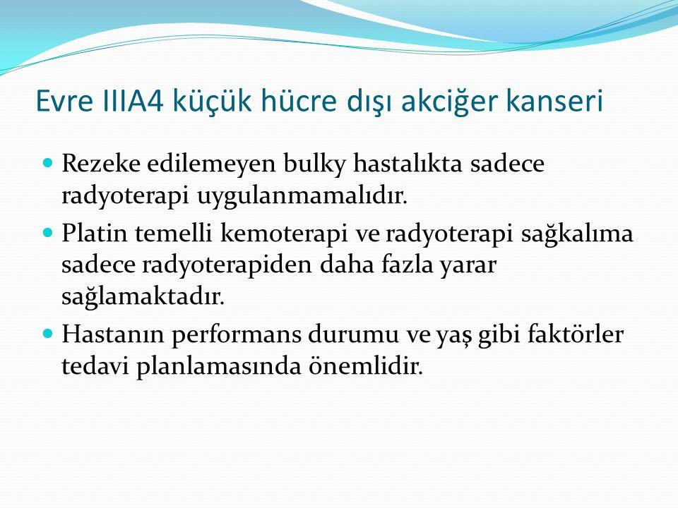 Evre IIIA4 küçük hücre dışı akciğer kanseri