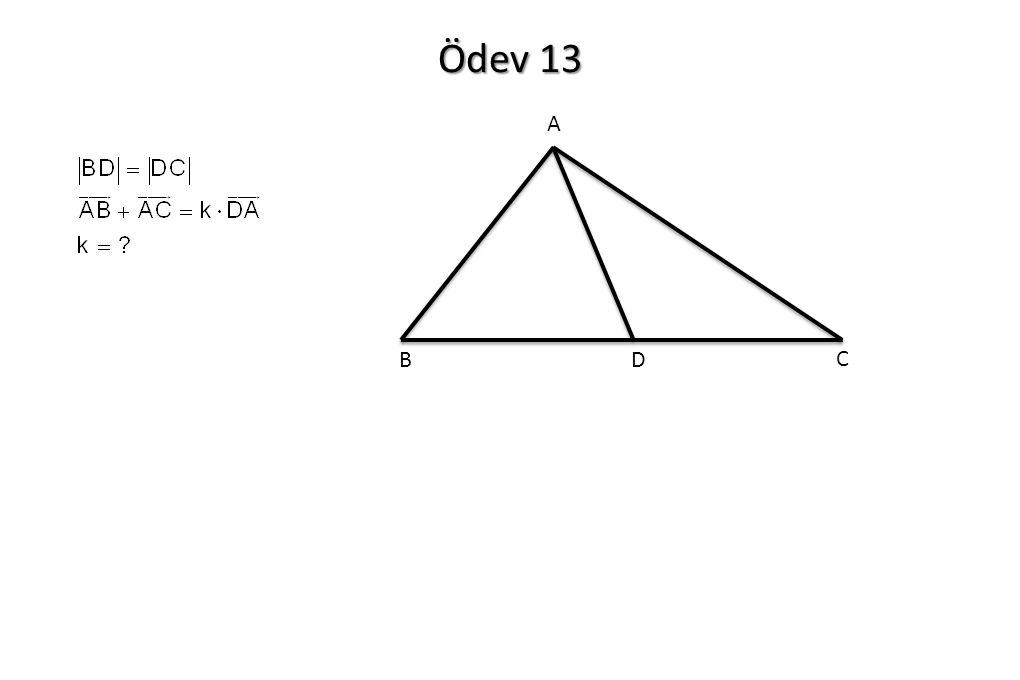 Ödev 13 A B C D