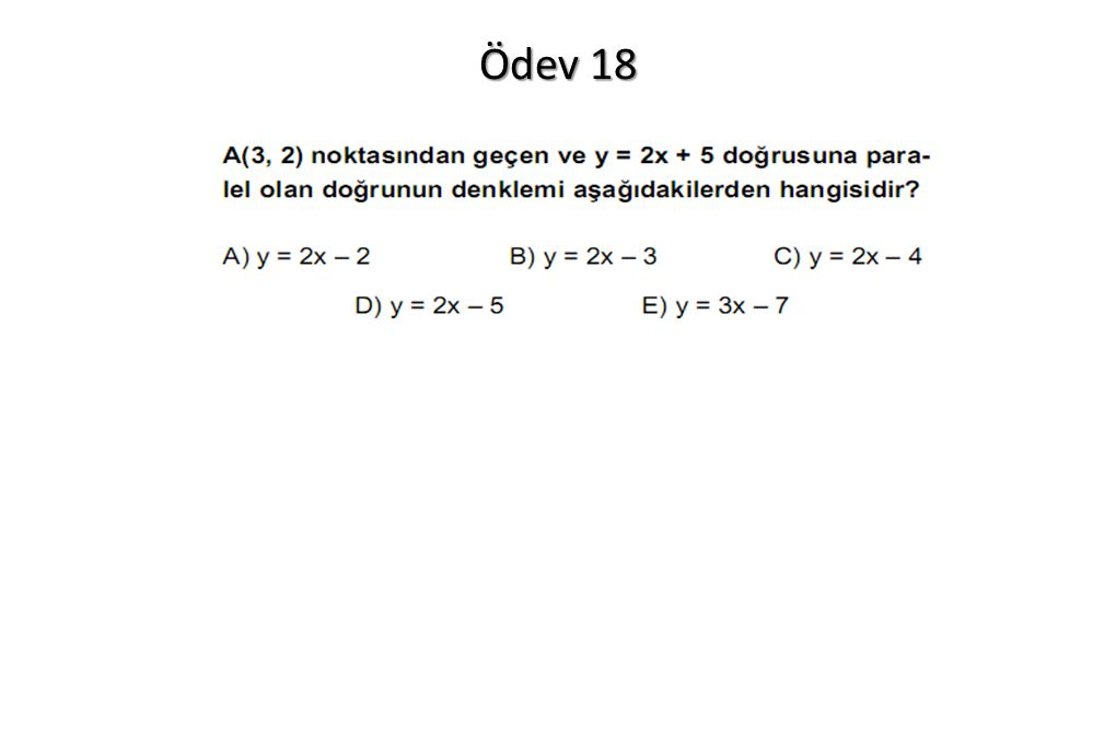 Ödev 18