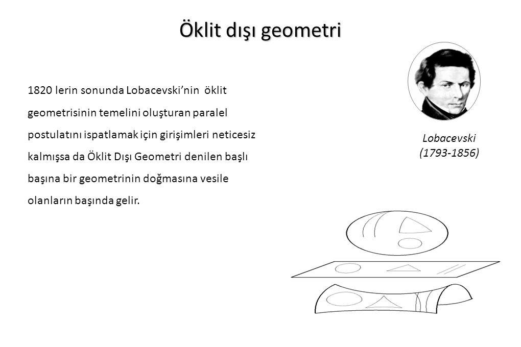 Öklit dışı geometri
