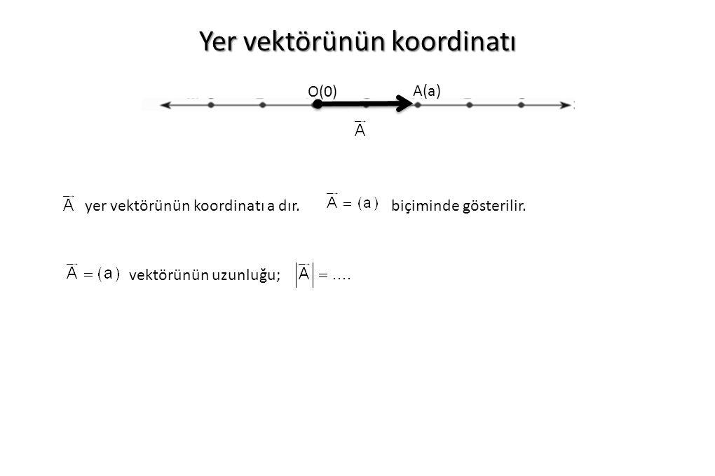 Yer vektörünün koordinatı
