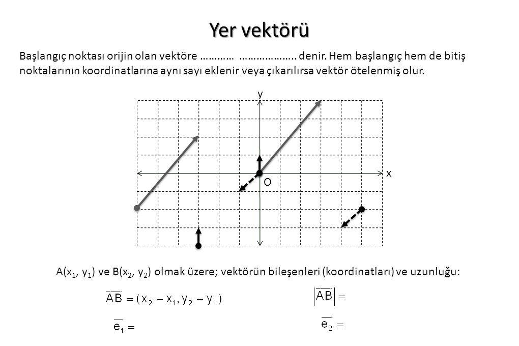 Yer vektörü