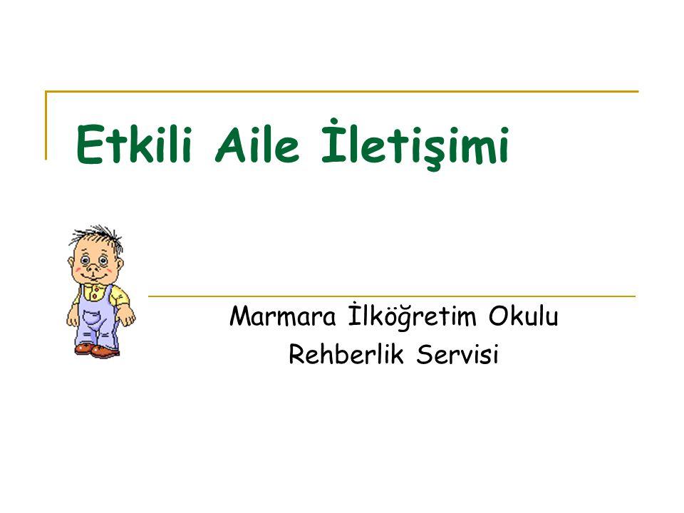 Marmara İlköğretim Okulu Rehberlik Servisi