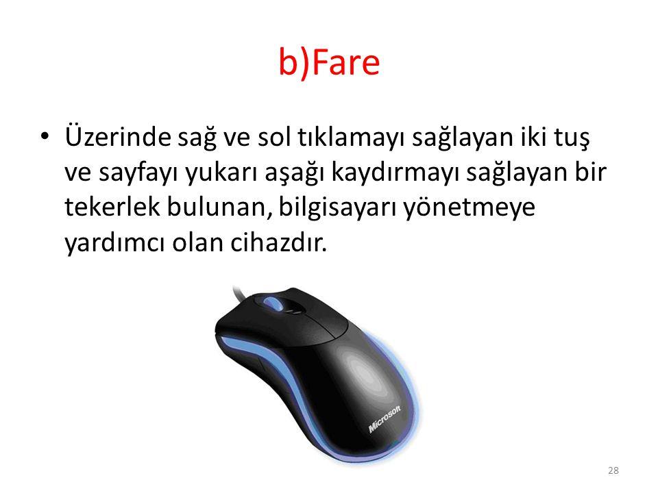 b)Fare