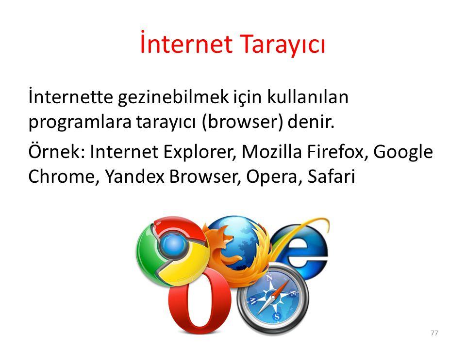 İnternet Tarayıcı