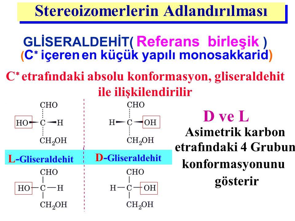 Stereoizomerlerin Adlandırılması