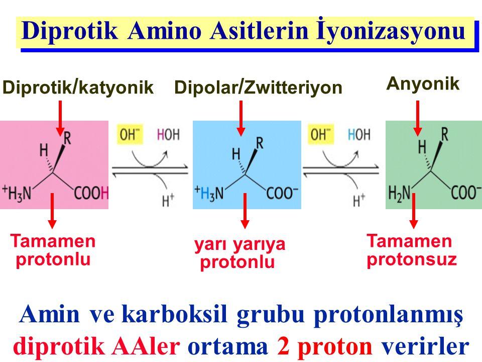 Diprotik Amino Asitlerin İyonizasyonu