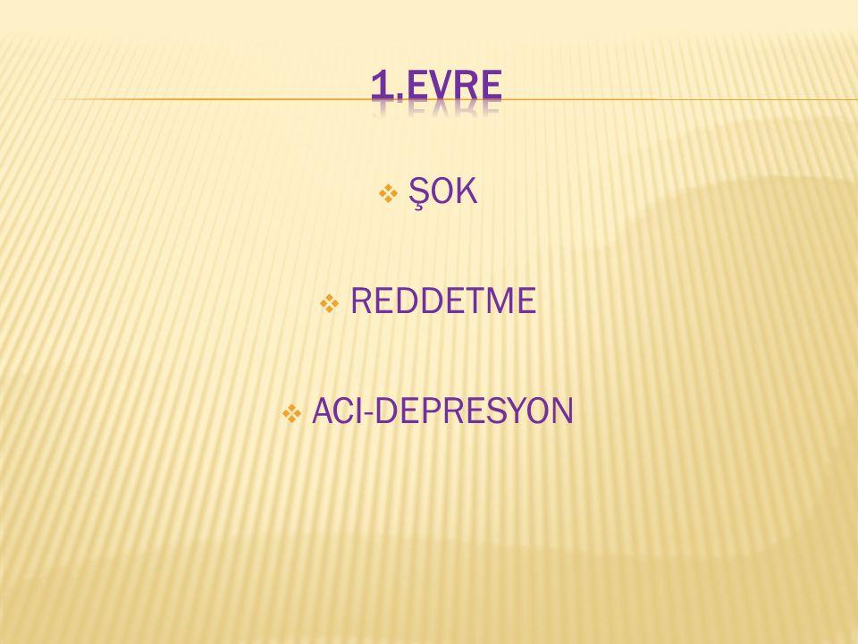1.EVRE ŞOK REDDETME ACI-DEPRESYON