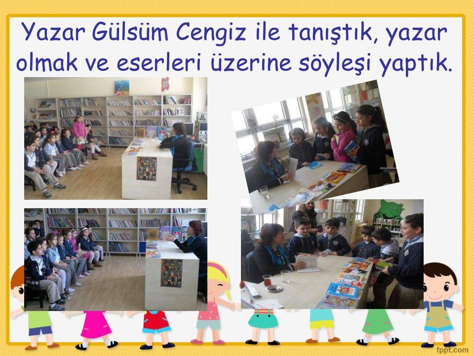 Yazar Gülsüm Cengiz ile tanıştık, yazar olmak ve eserleri üzerine söyleşi yaptık.