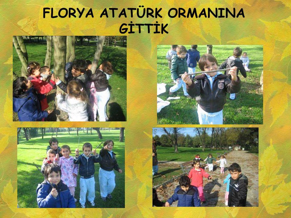 FLORYA ATATÜRK ORMANINA GİTTİK