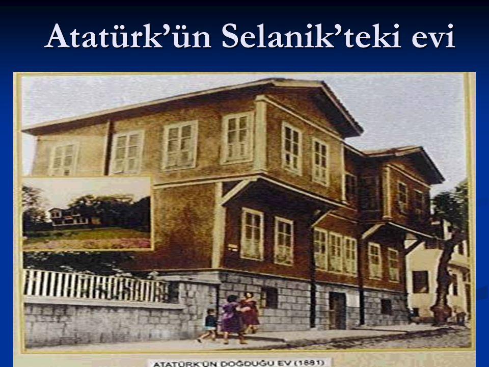 Atatürk'ün Selanik'teki evi