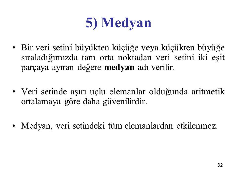 5) Medyan