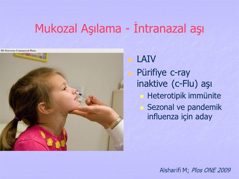 Mukozal Aşılama - İntranazal aşı