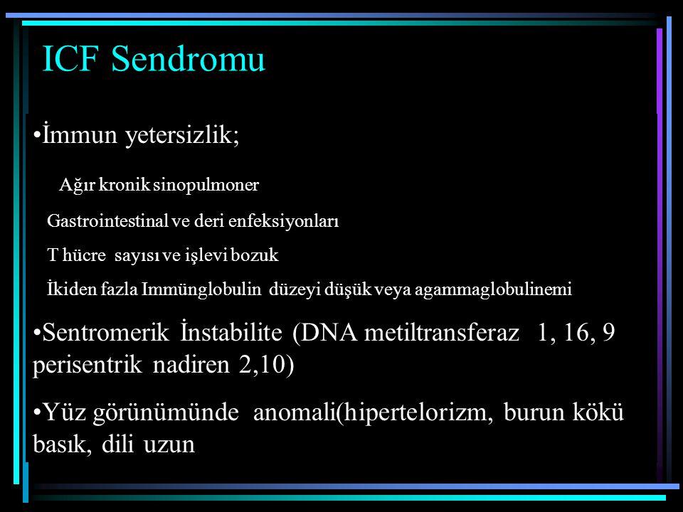 ICF Sendromu İmmun yetersizlik; Ağır kronik sinopulmoner