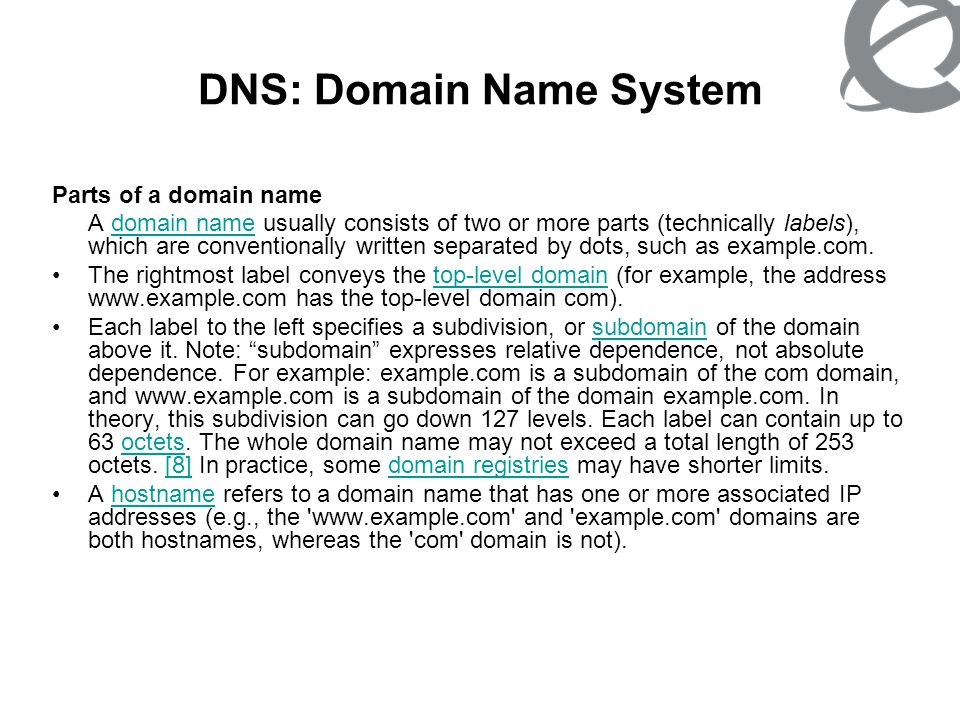 DNS: Domain Name System