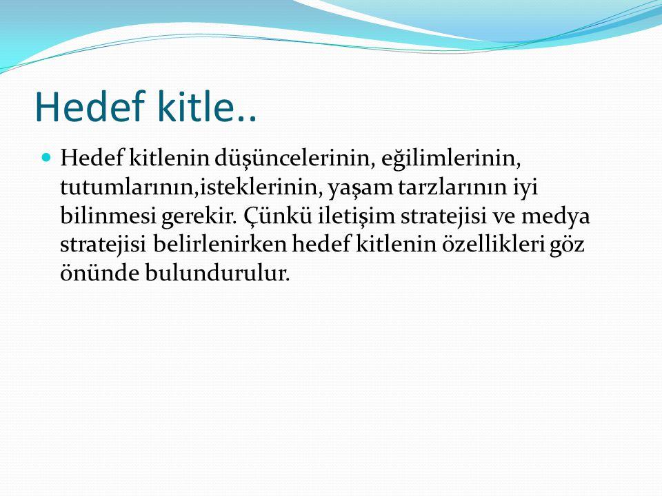 Hedef kitle..