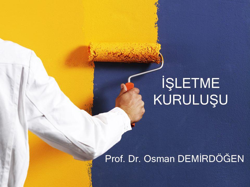 Prof. Dr. Osman DEMİRDÖĞEN