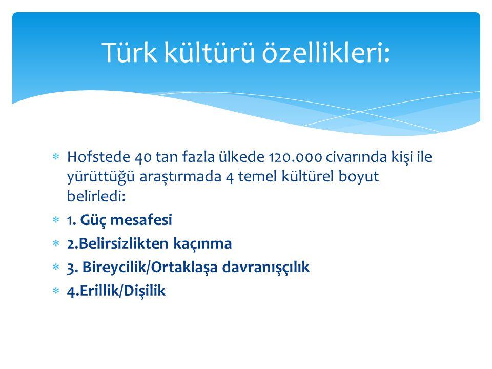 Türk kültürü özellikleri: