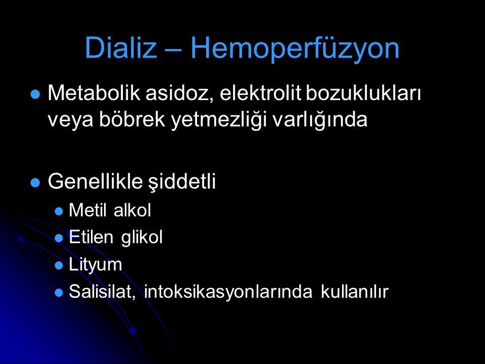 Dializ – Hemoperfüzyon