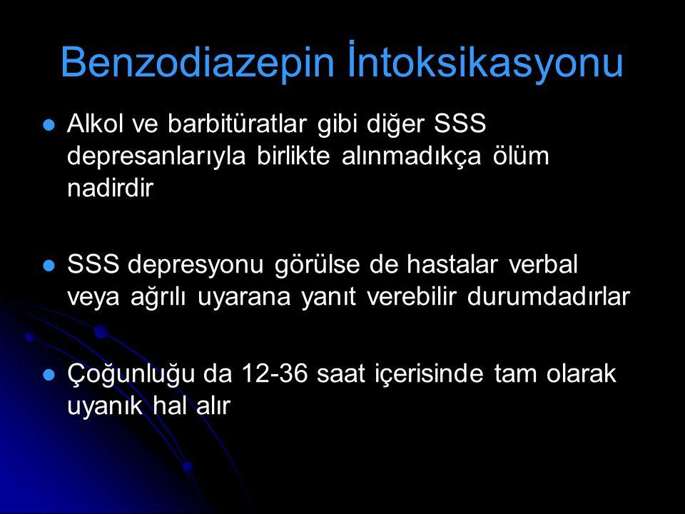 Benzodiazepin İntoksikasyonu