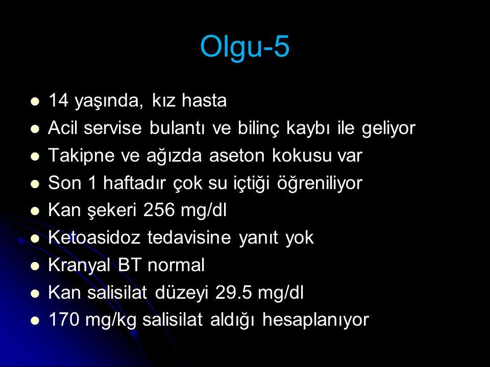 Olgu-5 14 yaşında, kız hasta