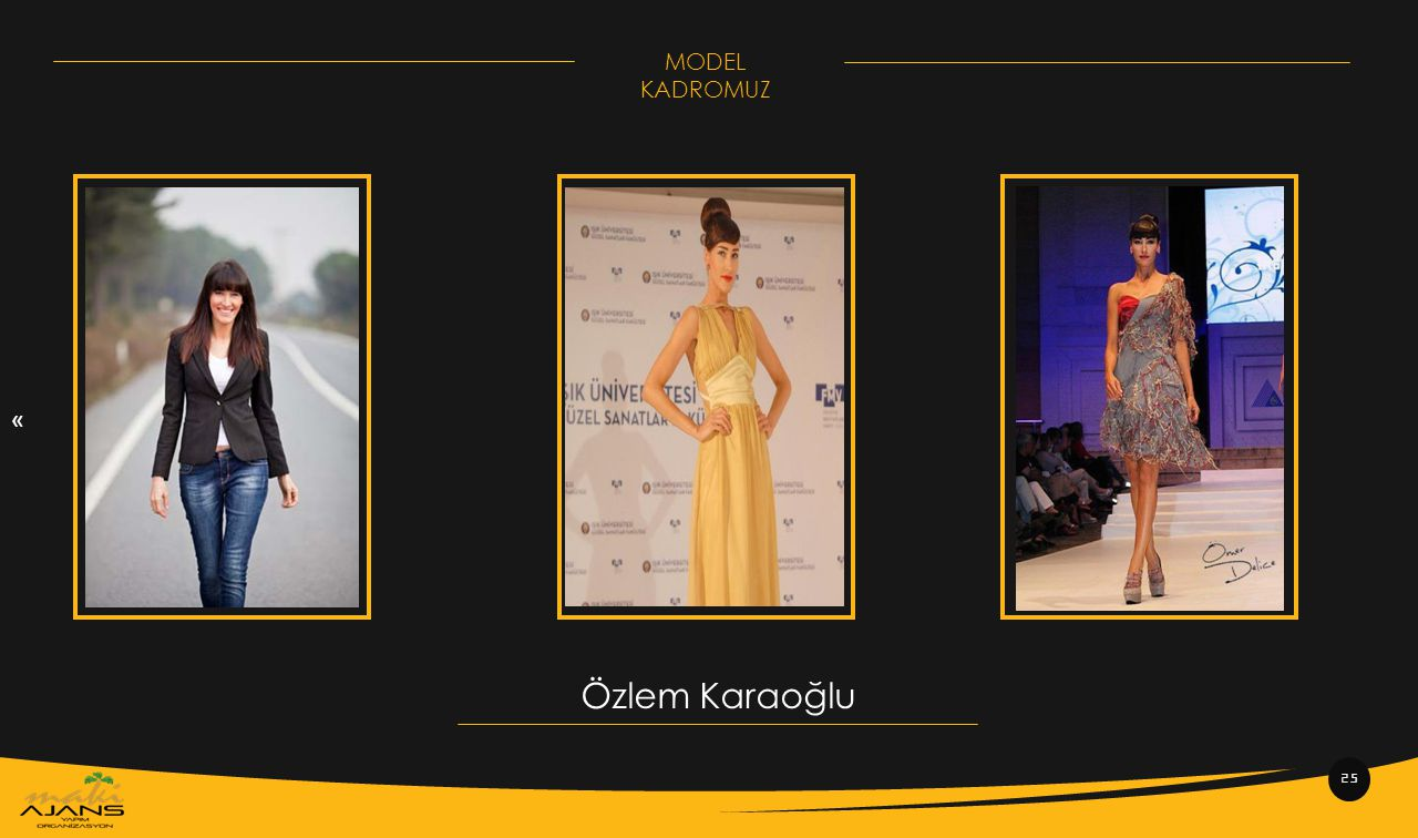 « MODEL KADROMUZ Özlem Karaoğlu 25