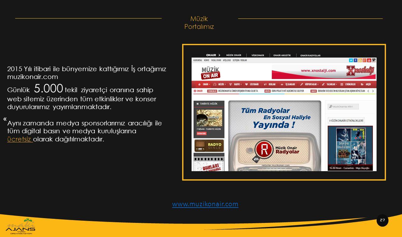« www.muzikonair.com Müzik Portalımız