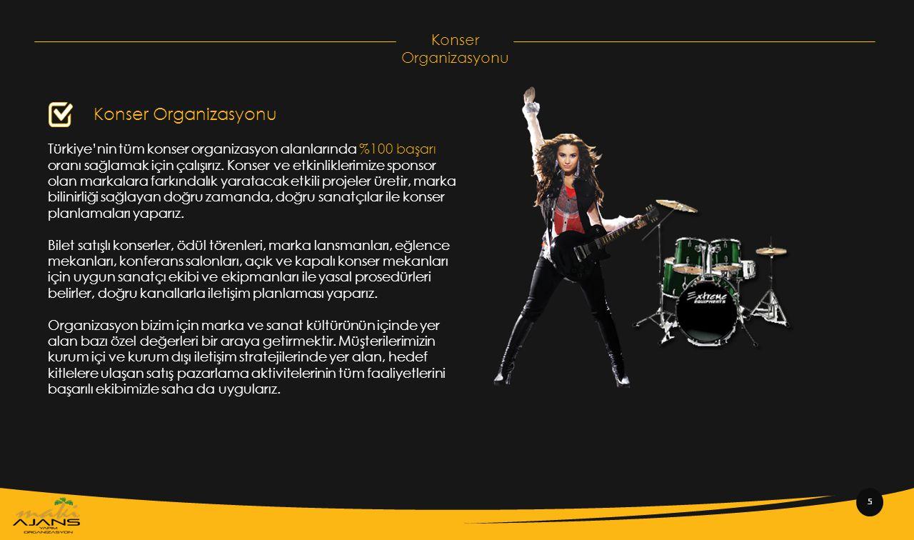 Konser Organizasyonu Konser Organizasyonu