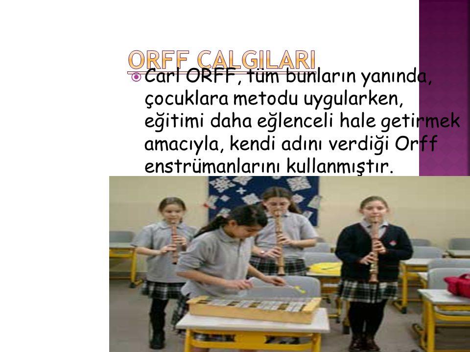 ORFF ÇALGILARI