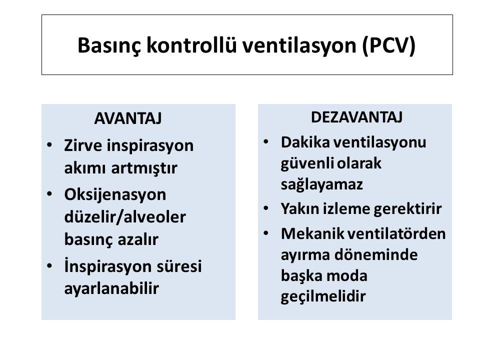 Basınç kontrollü ventilasyon (PCV)