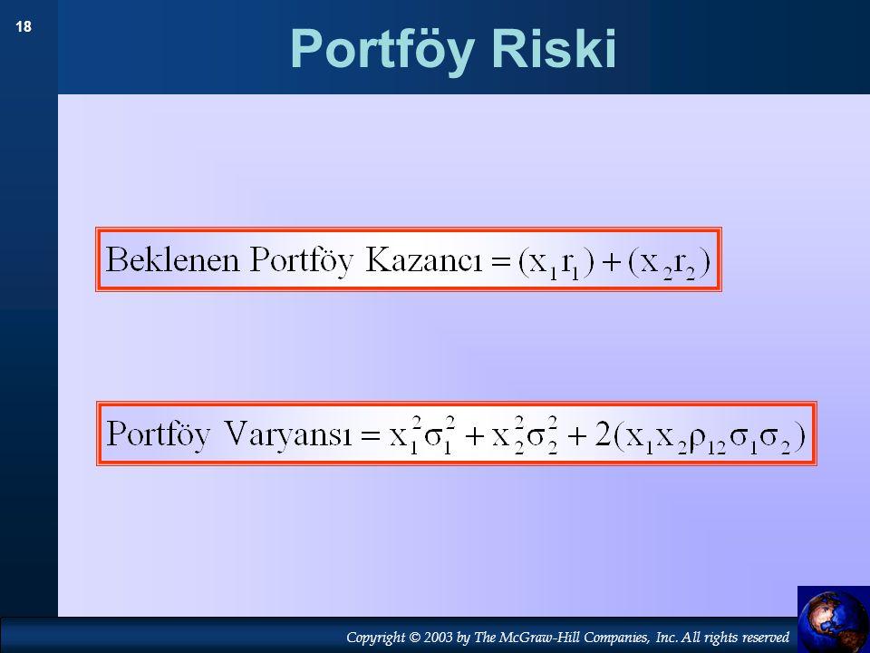 Portföy Riski 19