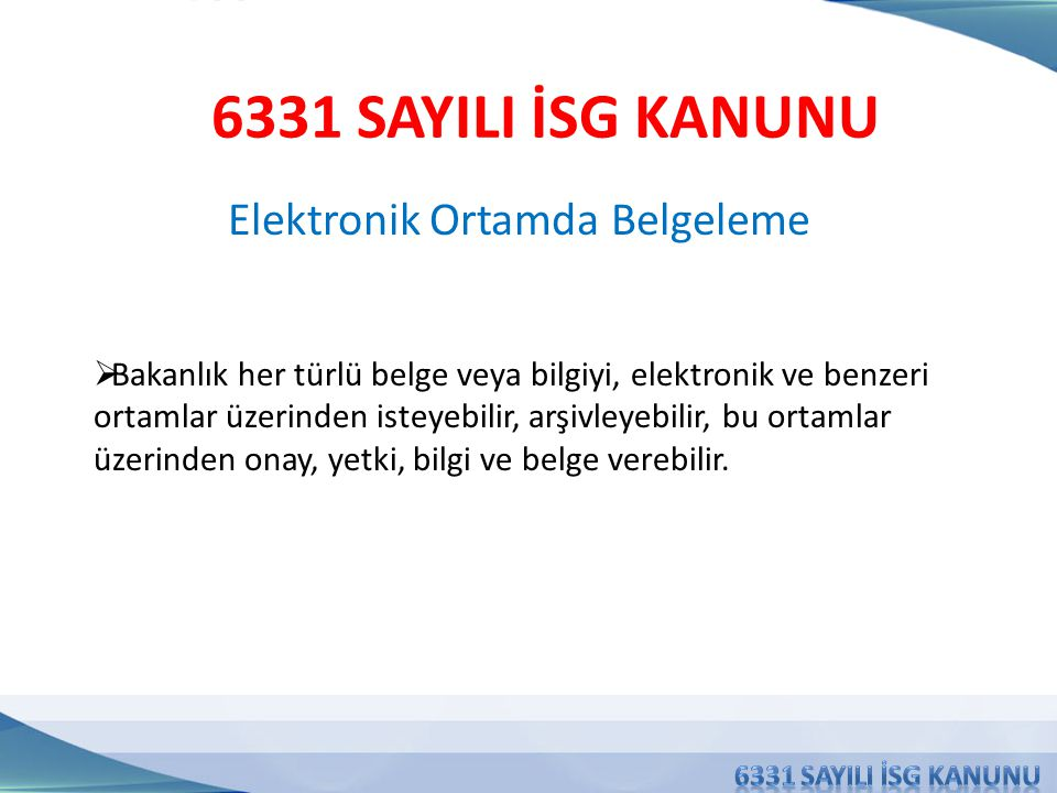 Elektronik Ortamda Belgeleme