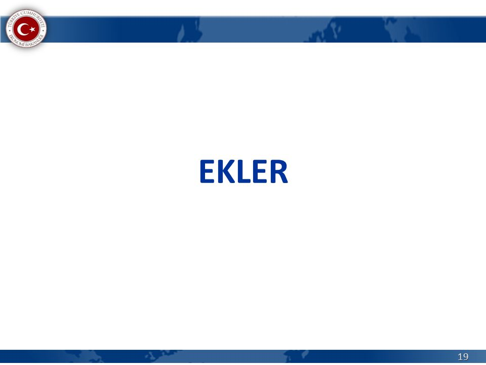 EKLER 19