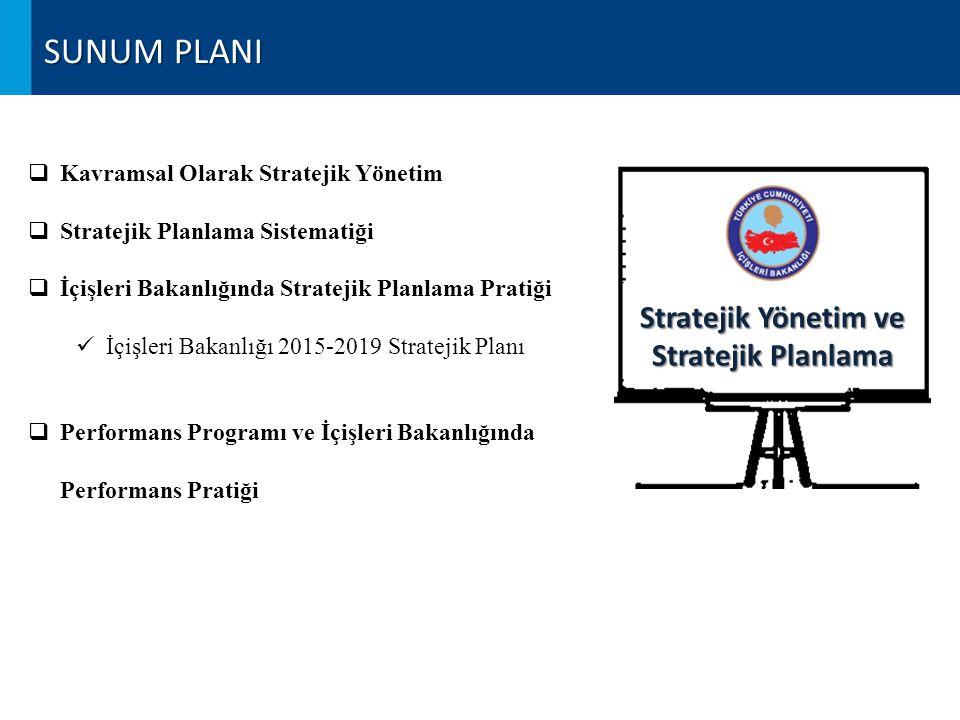Stratejik Yönetim ve Stratejik Planlama