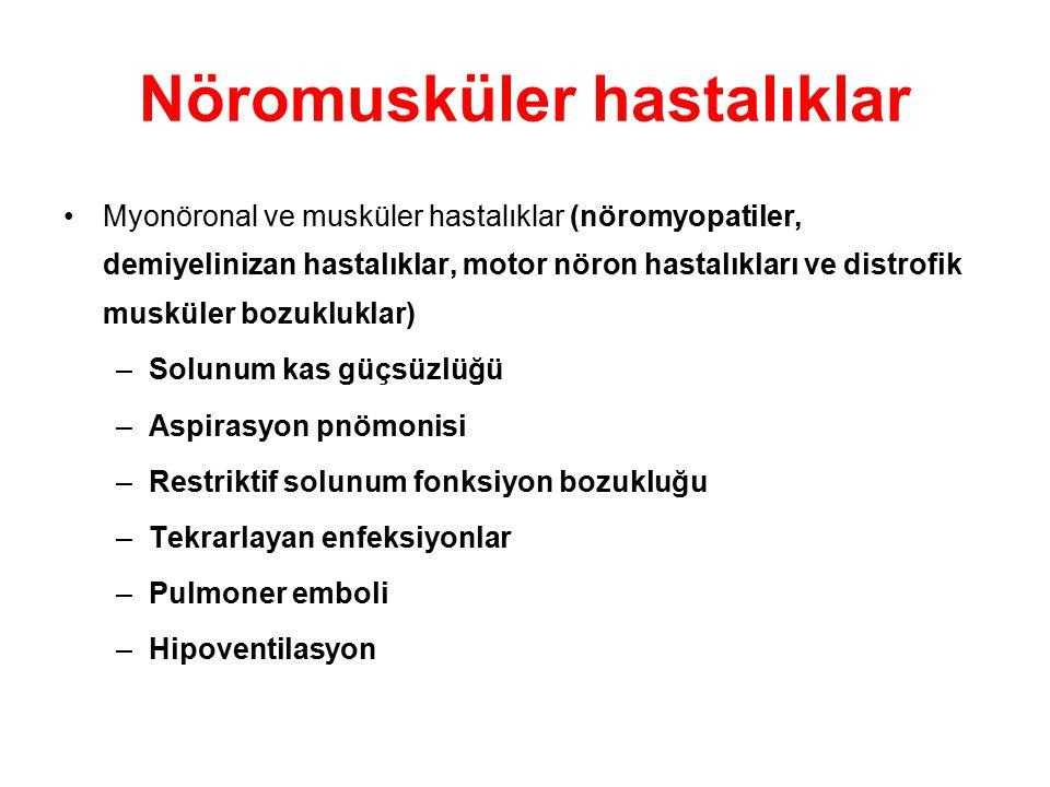 Nöromusküler hastalıklar