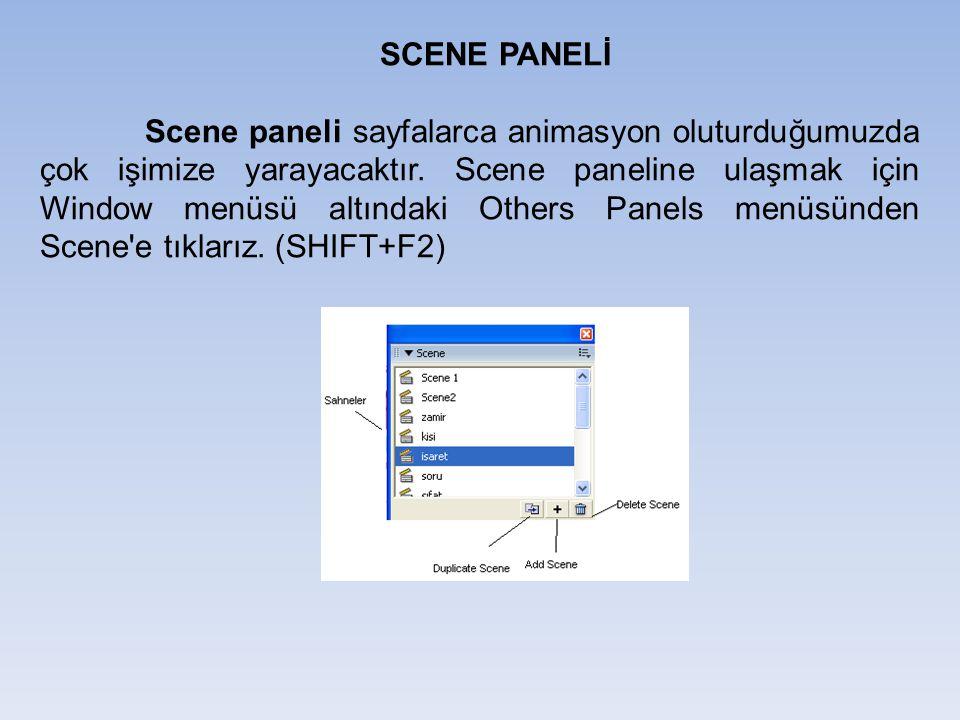 SCENE PANELİ