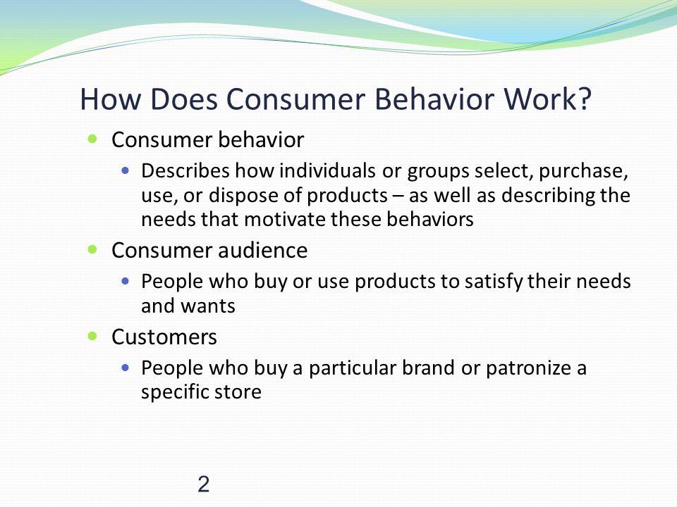 How Does Consumer Behavior Work